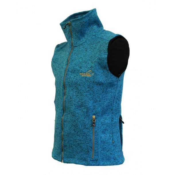 NYHED - Arrak Fleece Vest Lady - Turkis
