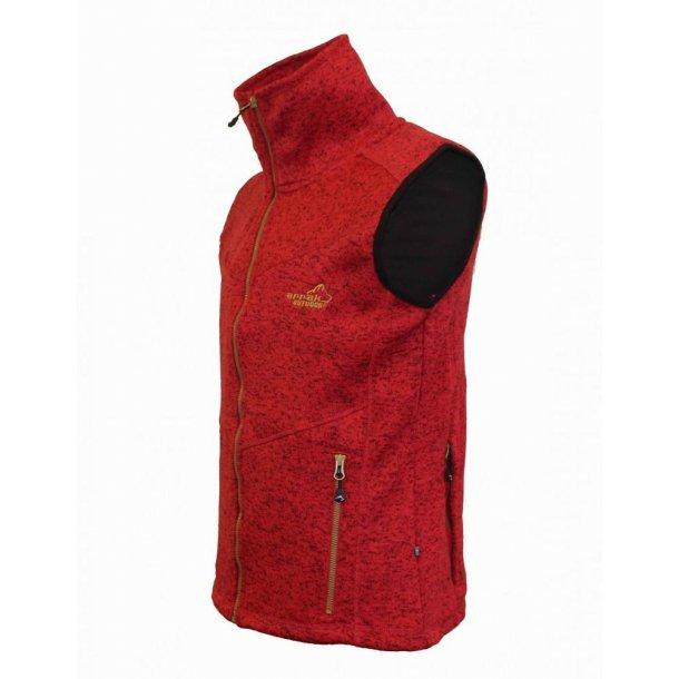 NYHED - Arrak Fleece Vest Lady - Rød