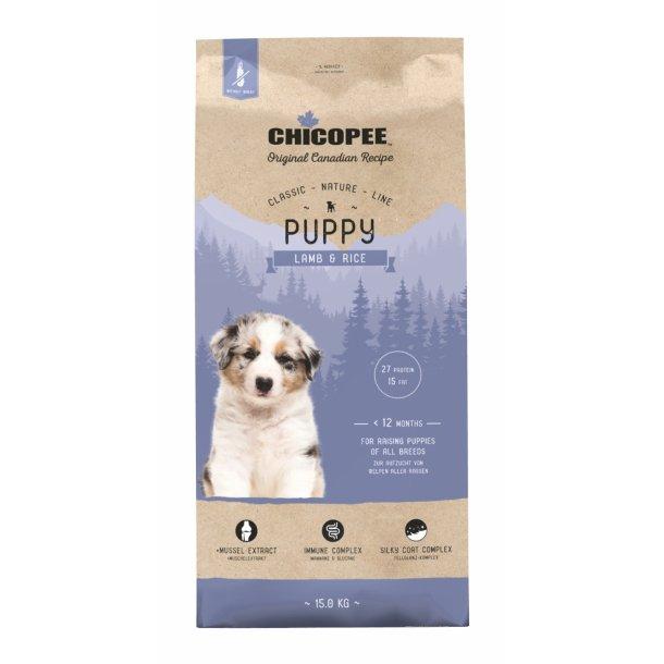 Chicopee Nature Line Puppy - Lamb & Rice