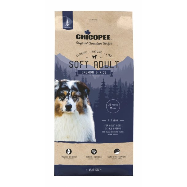 Chicopee Nature Line Soft Adult - Salmon & Rice
