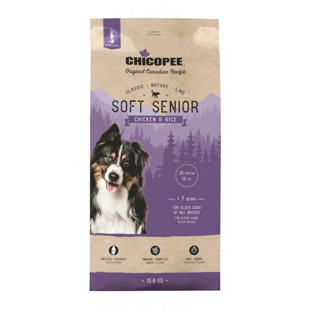 Chicopee Nature Line Soft Senior - Chicken & Rice