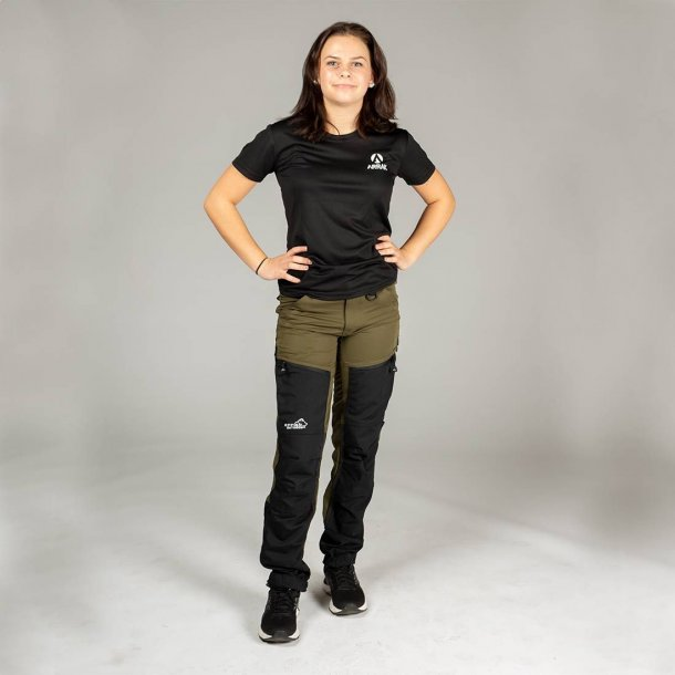 NYHED: Rough Pants Women Oliven/sort