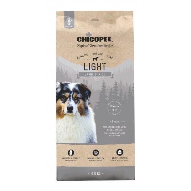Chicopee Nature Line - Light Adult Lamb & Rice