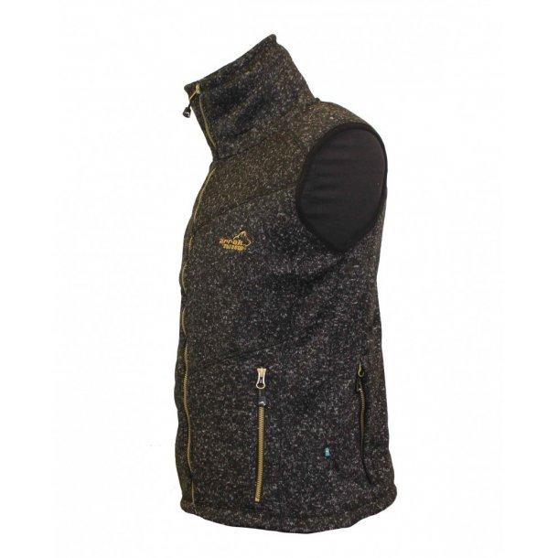 NYHED - Arrak Fleece Vest Lady - Sort