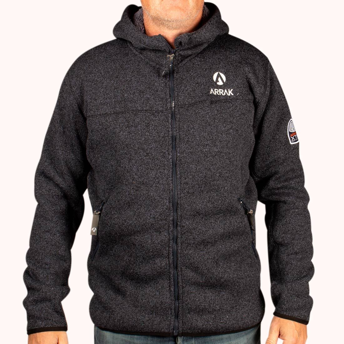 e4ebd687fef NYHED: Pilefleece Hood Men Black - Arrak Outdoor - Hirtshals Hundepension v/Jan  Sørensen